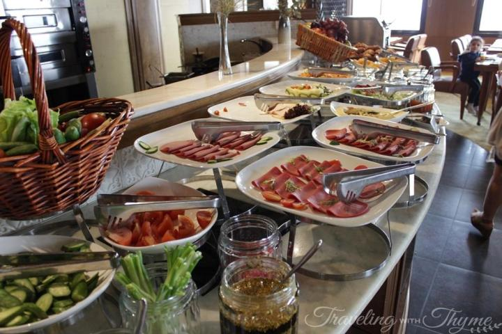 Breakfast Buffet Grand Hills Hotel Broumana