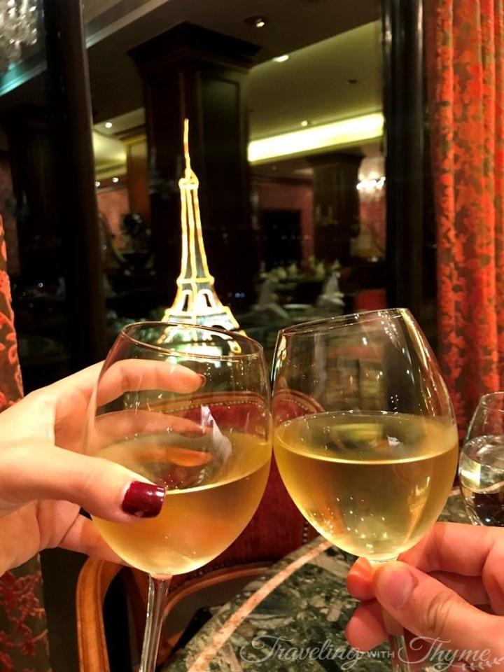 Chez Alain Restaurant Dinner Kefraya Wine