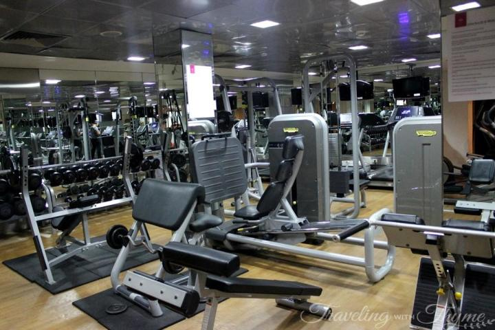 Grand Hills Hotel and Spa Gym