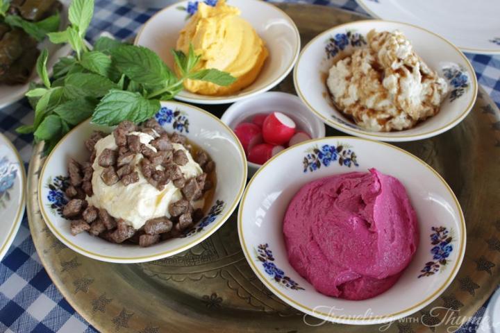 Al Falamanki Beirut Cold Mezza Hummus