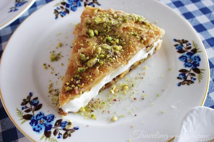 Al Falamanki Lebanese Dessert Oriental Ashta