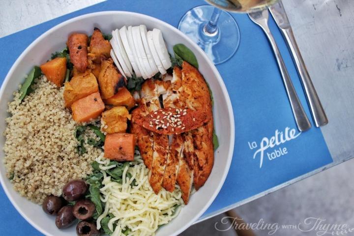 La Petite Table Lebanon Chicken Salad