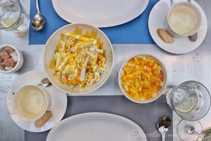 La Petite Table Lebanon Dessert Flatlay