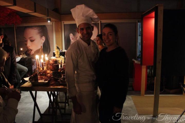 Lindt Master Chocolatier Matthew Muller Blogger