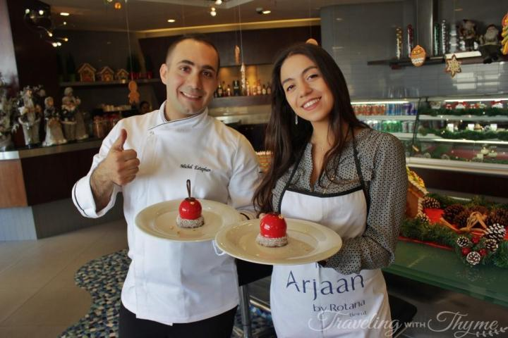 Rotana Chef Michel Patisserie Recipe Class