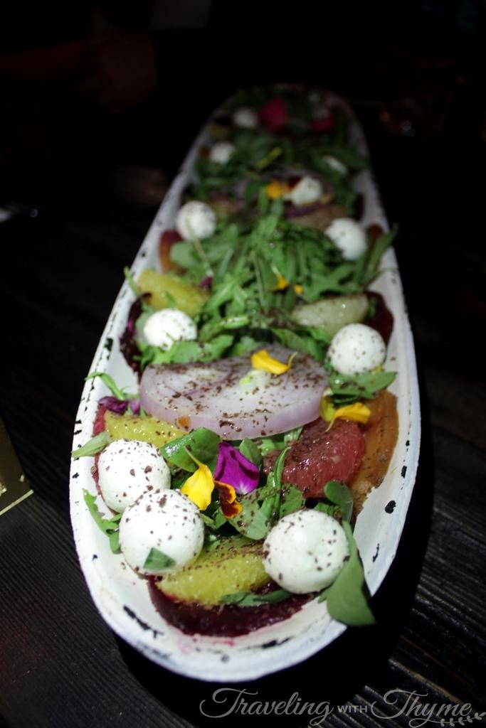 SteakBarSushi Chocolate Lindt Salad Recipe