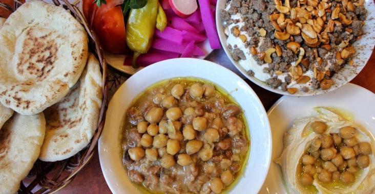 Akra Tripoli Lebanese Breakfast Best Foul
