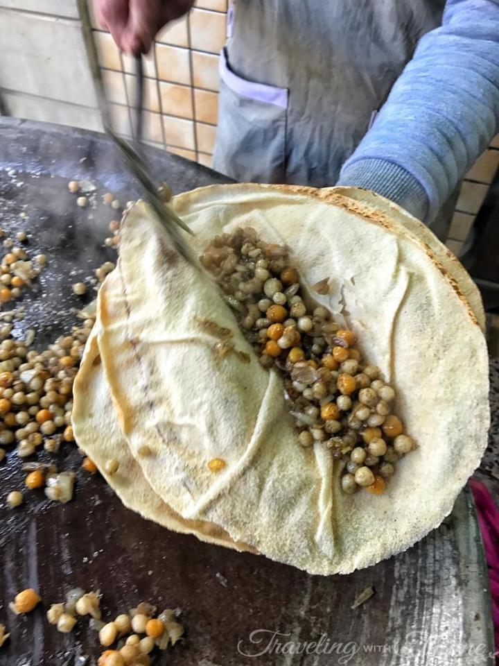 Dabboussy Tripoli Moghrabieh Lebanese Street Food