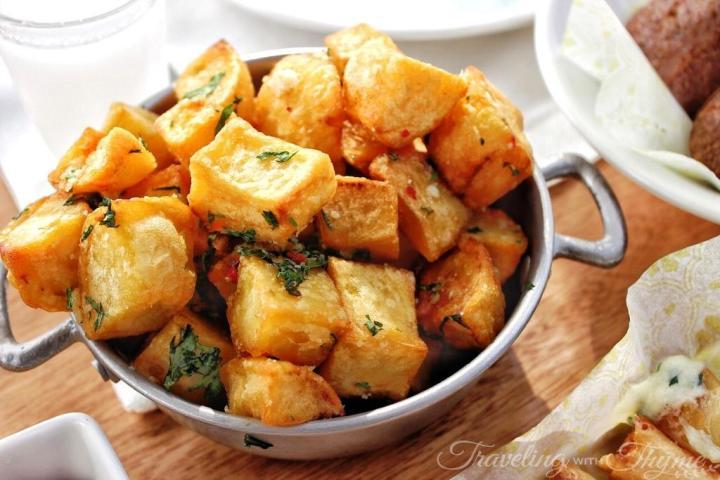 Enab Beirut Byblos Batata Lebanese cuisine