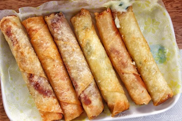 Enab Lebanese Mezza Fried Cheese Rolls