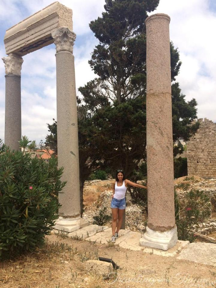 Jbeil Byblos Lebanon Crusader Castle Ruins
