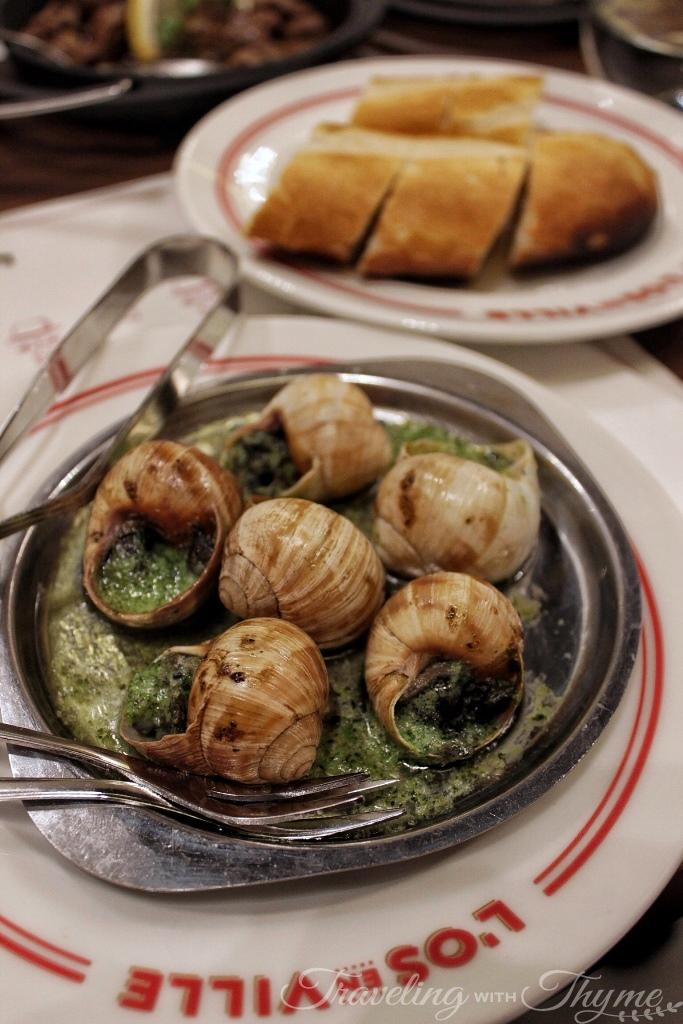 los en ville snails escargot french