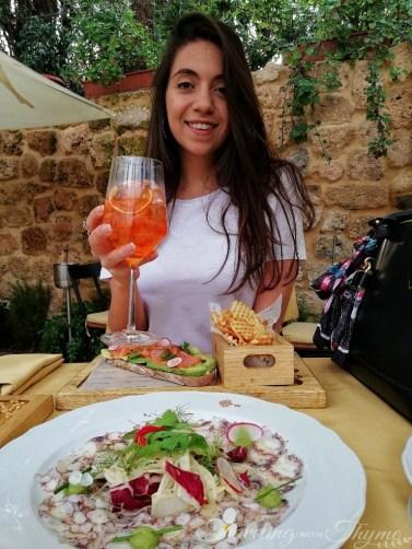 Lebanese food blogger Christina Naim foodie