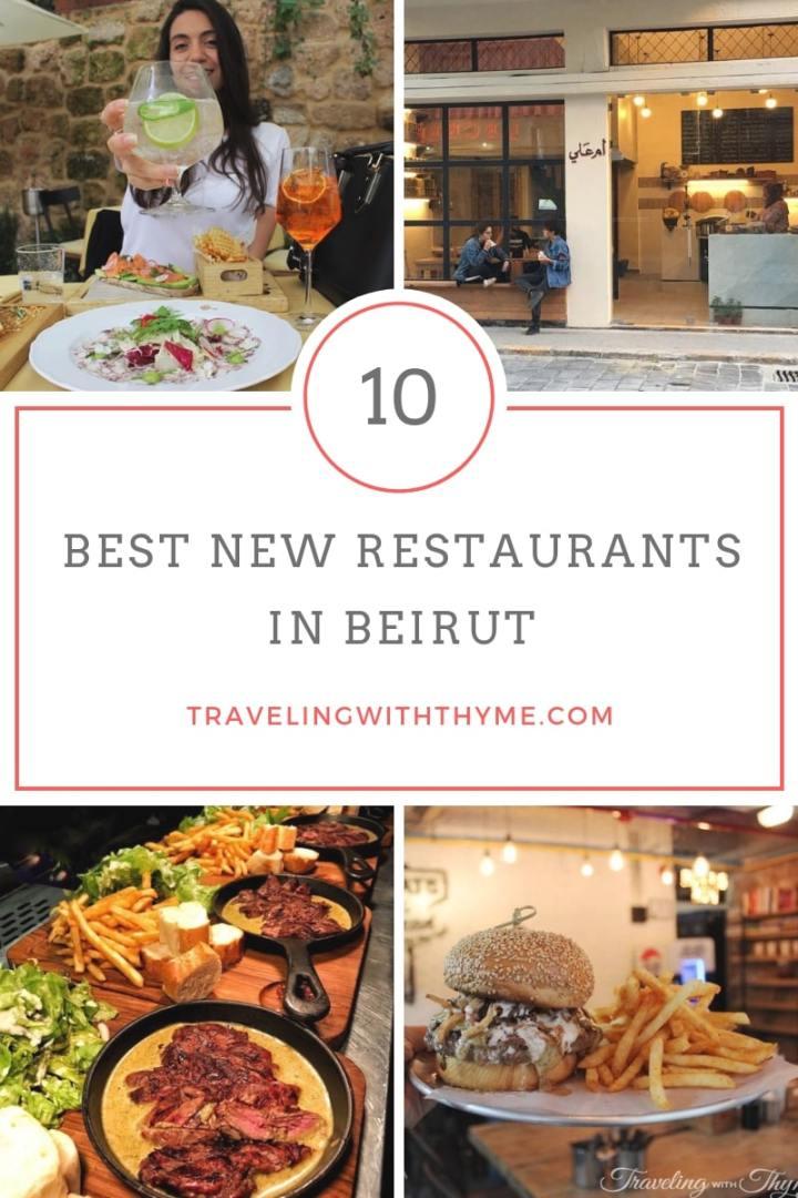 New restaurants in Beirut Lebanon lebanoneats