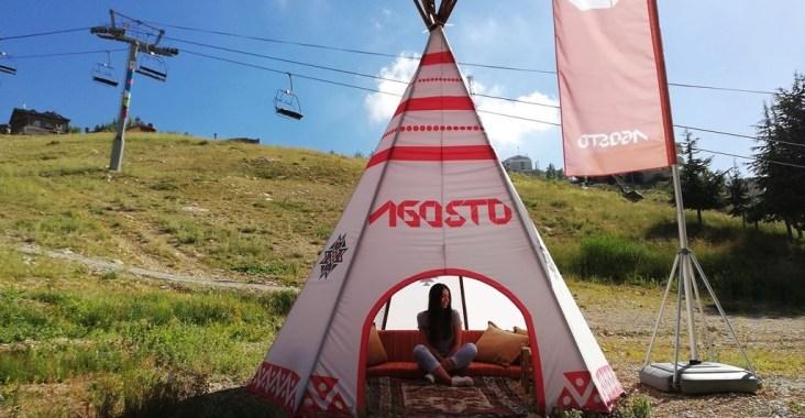 Agosto Experience Camping Event Lebanon Summer