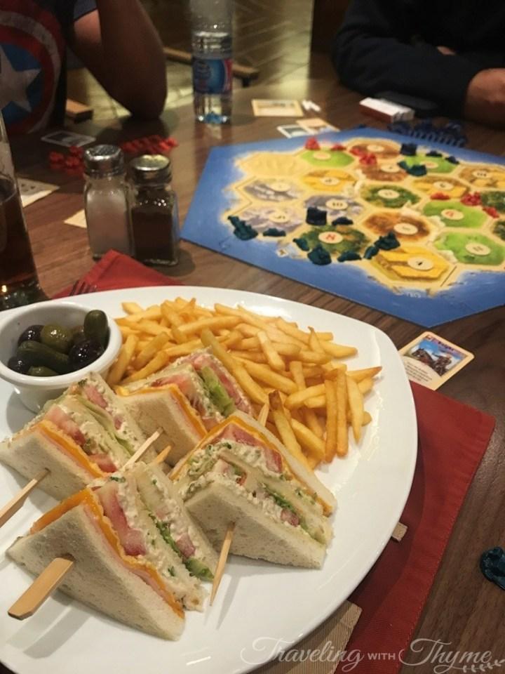 Catan Playing Board Game Lebanese Influencers