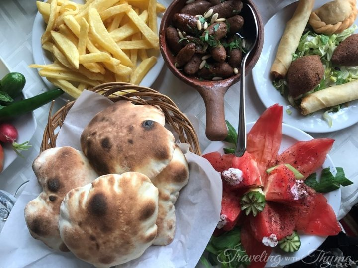 Baytna Barouk Restaurant Lebanese Bread Foodie