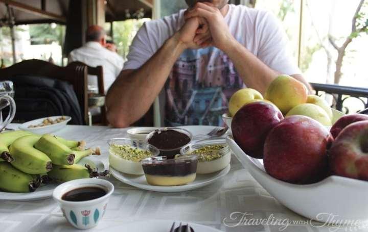 Baytna Barouk Restaurant Lebanese Dessert Lebanon