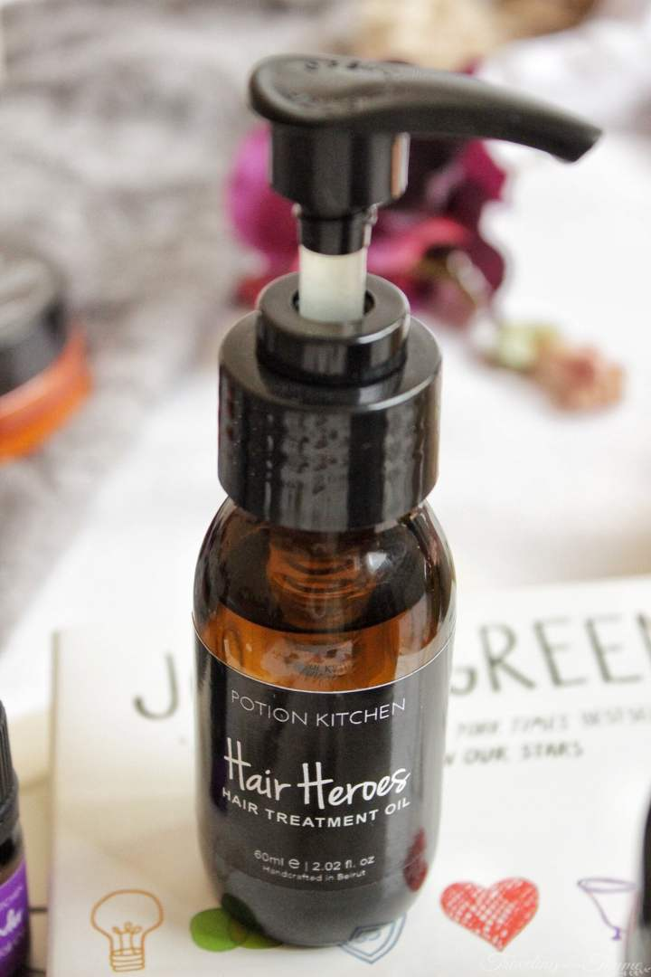 Potion Kitchen Hair Heroes Treatment Oil