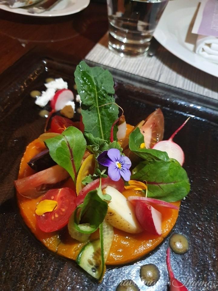 Le Gray Beirut Dinner Restaurant Salad