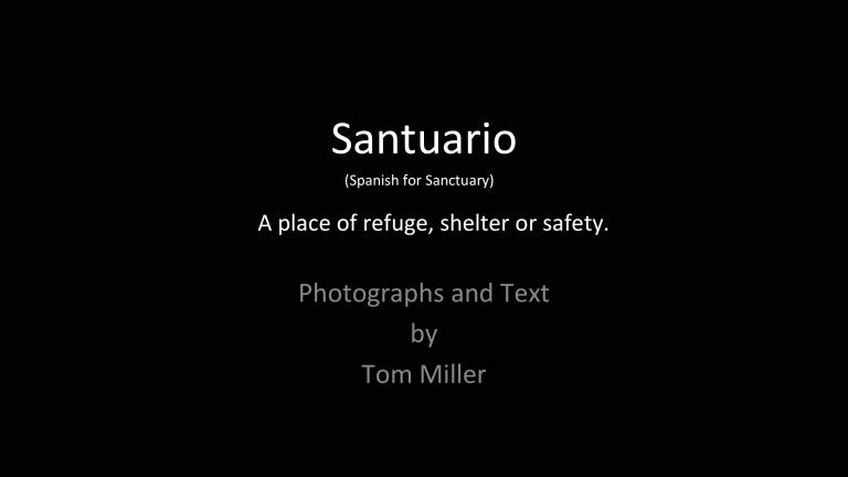 Screen Shot Santuario 1