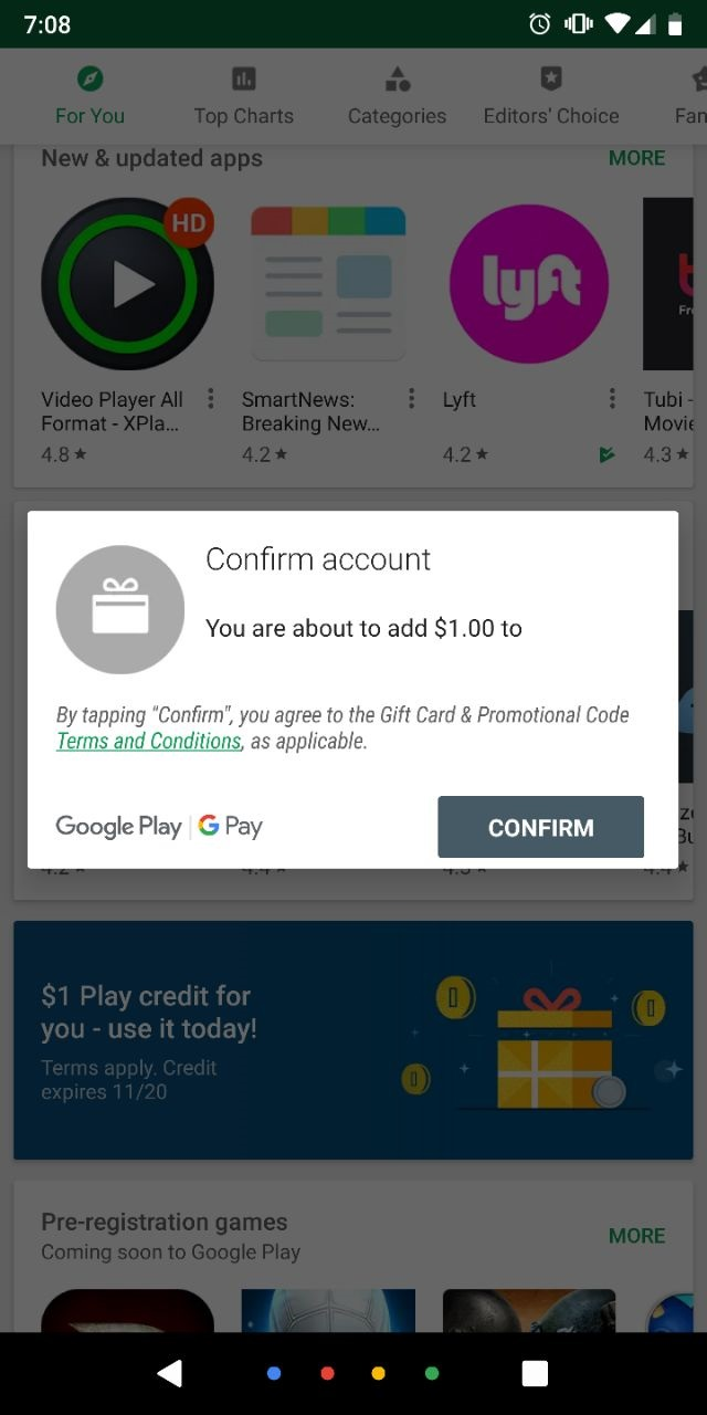 YMMV] Google Pay Store $1-5 EASY Credit – TravelinPoints