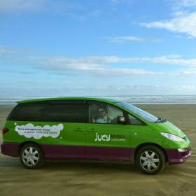 guide to living in a car jucy NZ