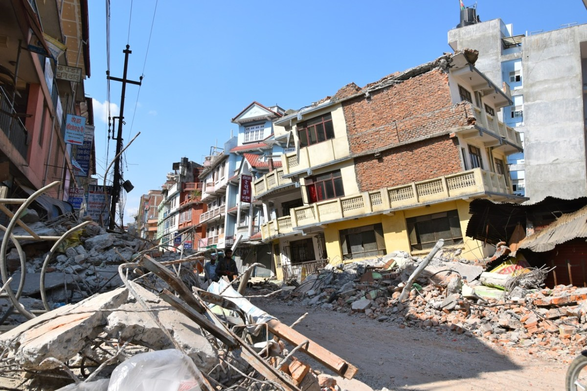 2nd Major Earthquake in Nepal