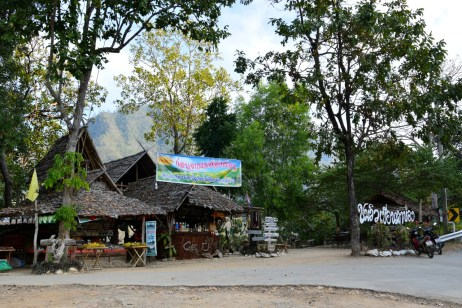 Cafe Near Mae Hong Son