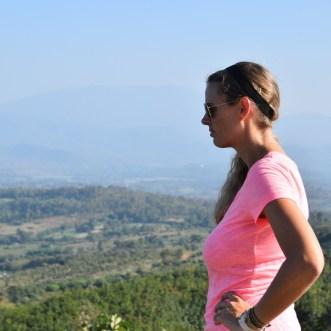 Enjoying some views on the Mae Hong Son Loop