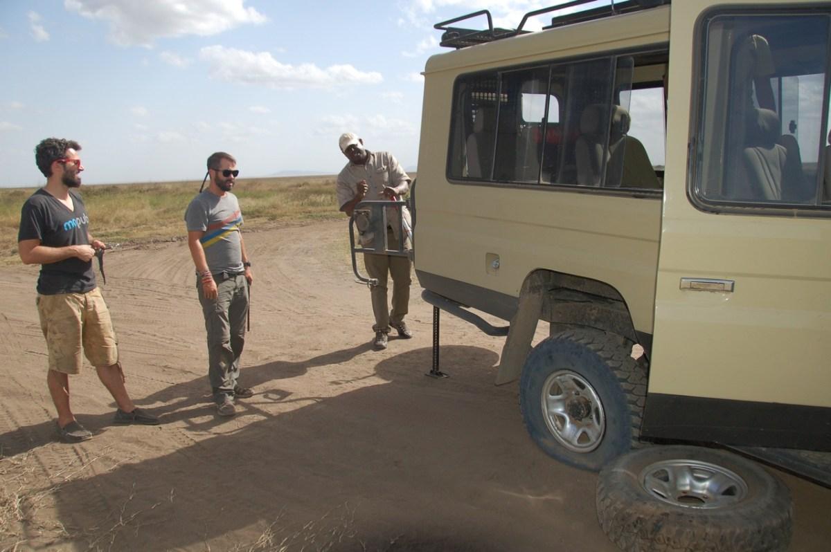 Hiring a Travel Guide on Safari