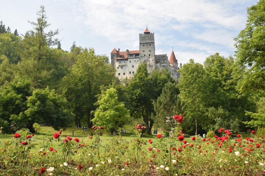 Visting Bran Castle