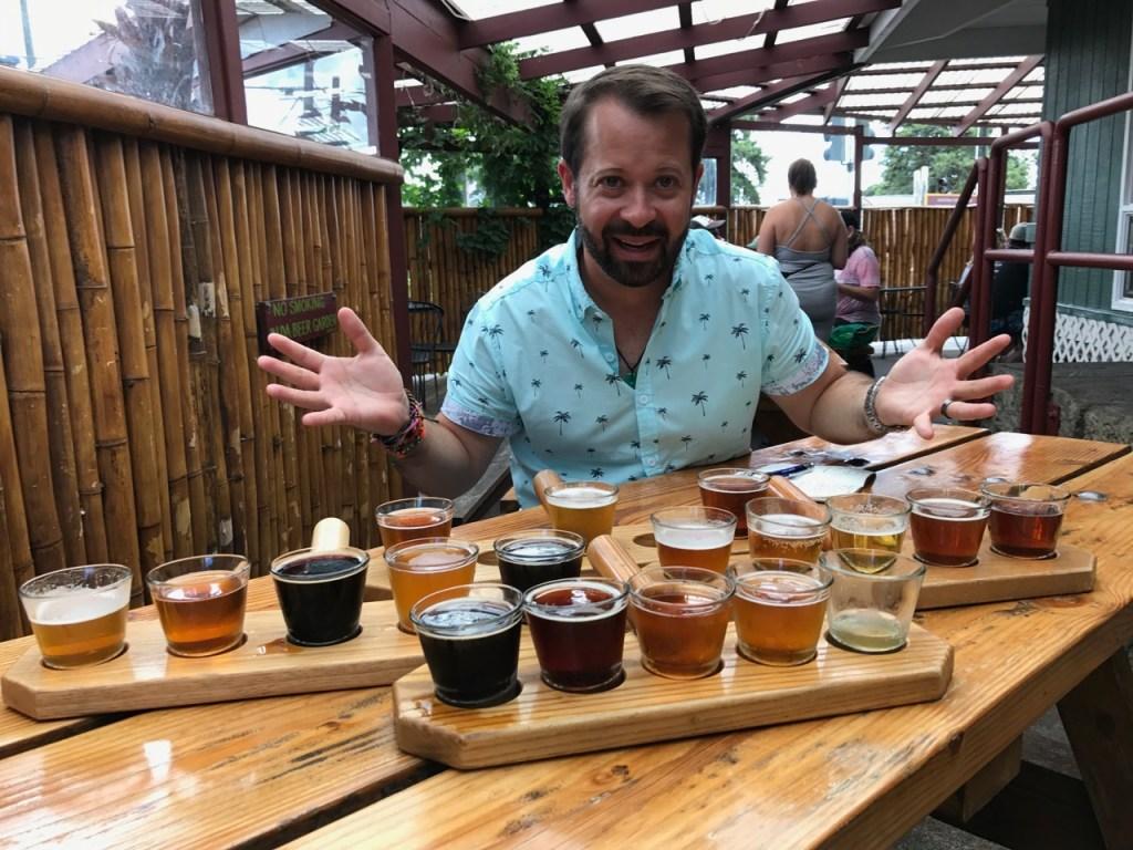 Loving our Big Island Brewhaus beers!
