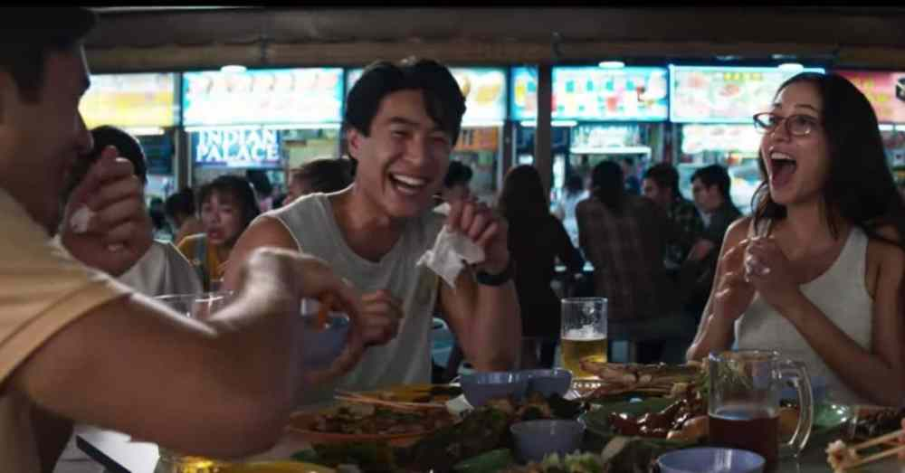 Newton Food Centre in Crazy Rich Asians