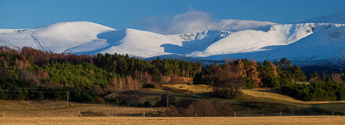 Cairngorms Under Snow