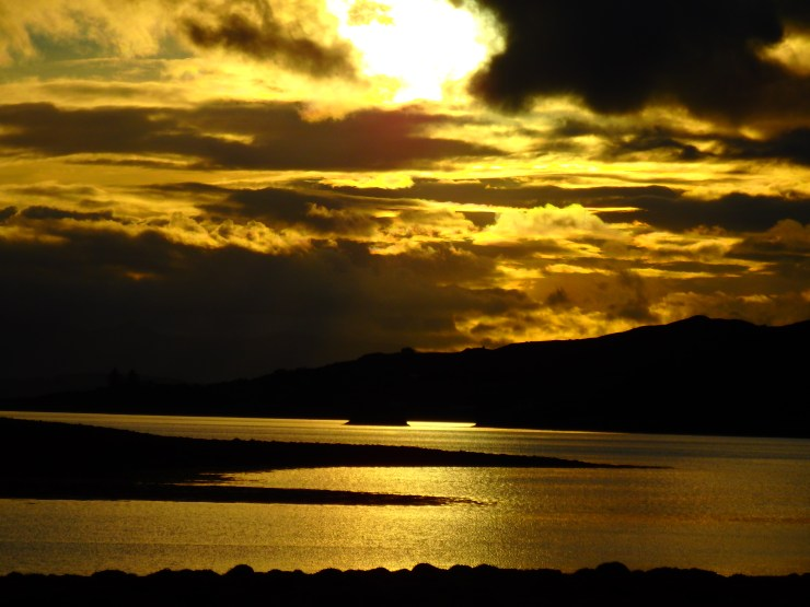 Sunset in the Isle of Skye