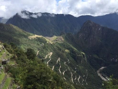 Vue depuis Inti Punku