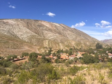 The village of Torotoro