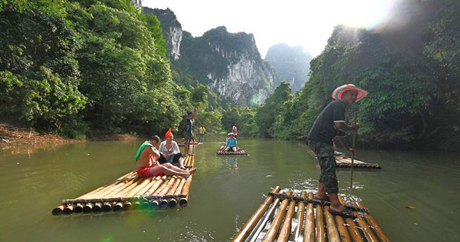 One Day Trip Khao Sok Discovery With Bamboo Rafting Or