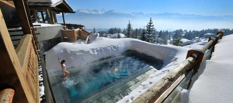 20 Awesome Pools - LeCrans Hotel and Spa