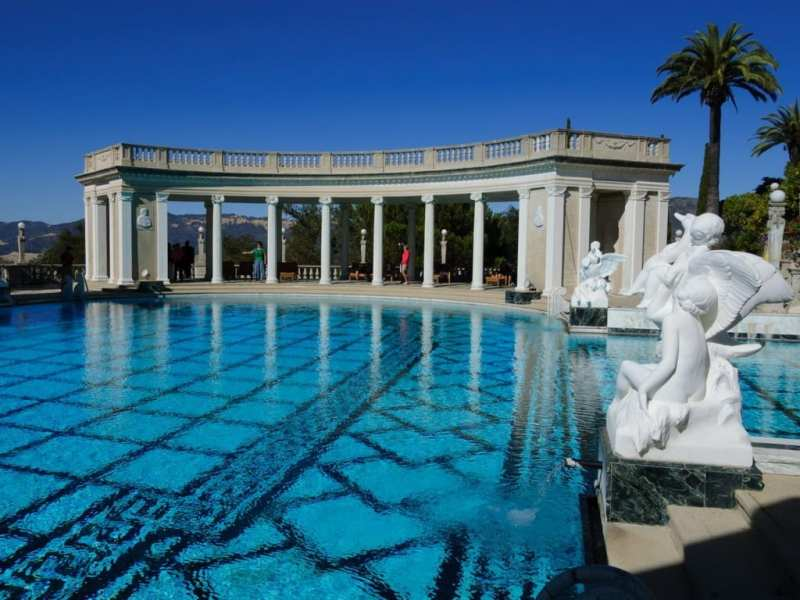 20 Awesome Pools - Neptune pool at the Hearst Castle