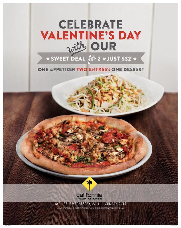 California Pizza Kitchen Valentines