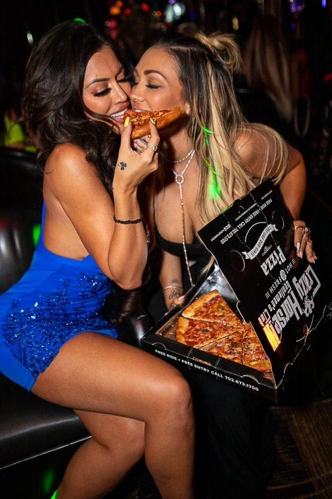 Toochi Kash Feeding Jen Harley Pizza
