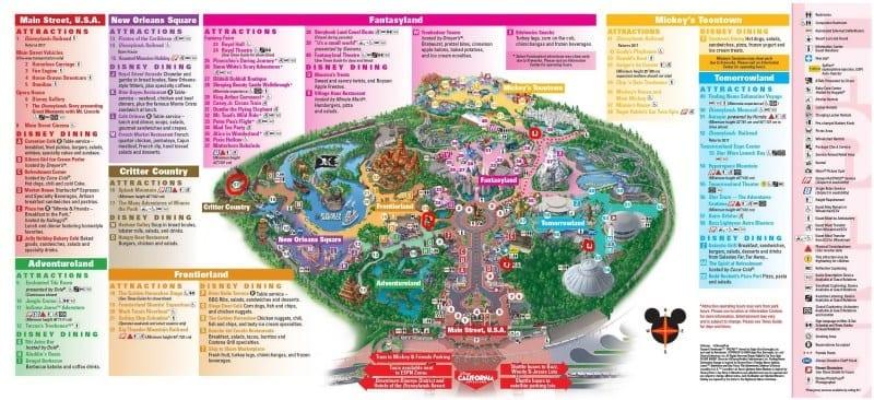 Fuel Rod Disneyland Map