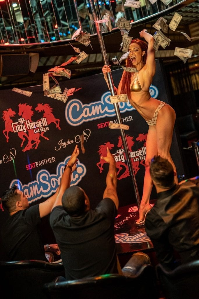 Jayden Cole Performing on Stage