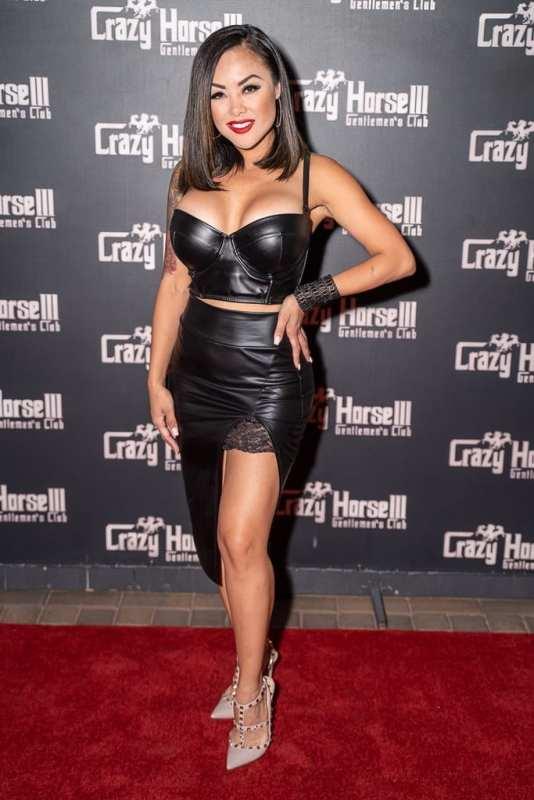Kaylani Lei on Crazy Horse 3 Red Carpet