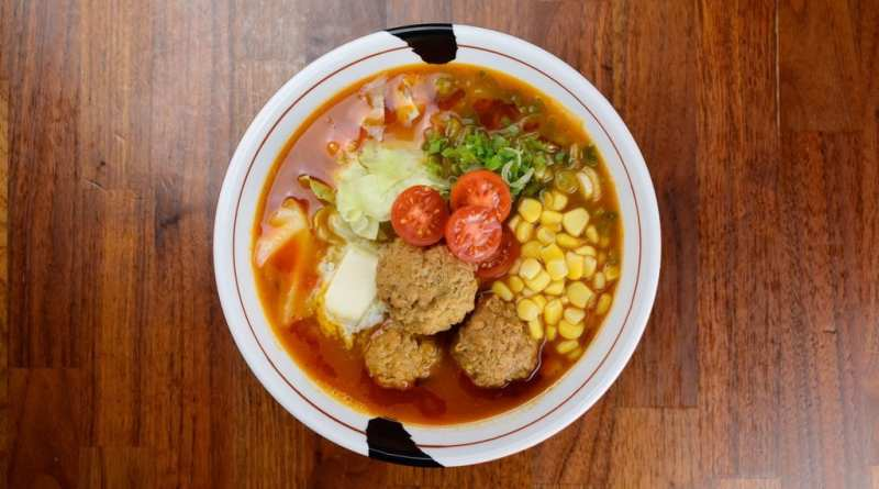 Spicy Meatball Ramen at JINYA Ramen Bar