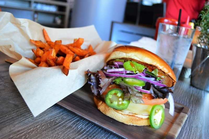 The Spicy Mat Franco at Smoked Burgers & BBQ
