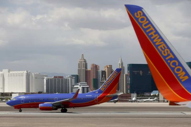 What Las Vegas Terminal is Southwest Airlines in?