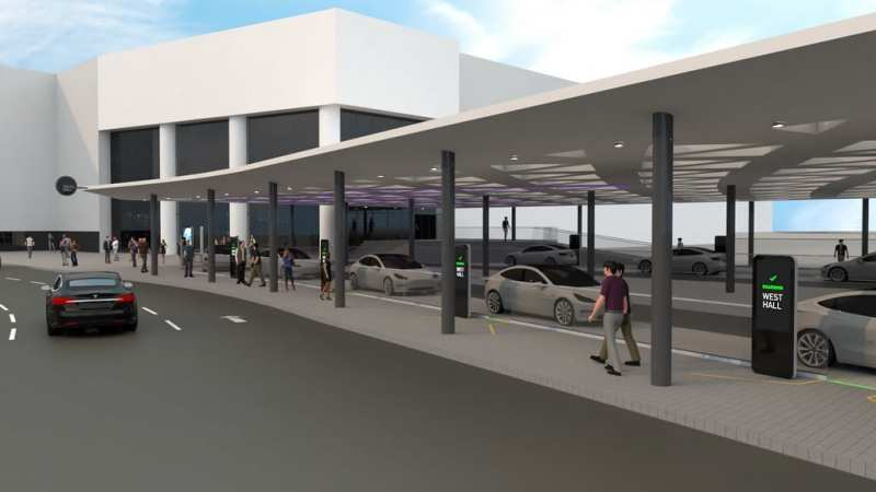 The Boring Company People Mover Conceptual Station